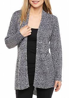 Kim Rogers Petite High Low Cardigan