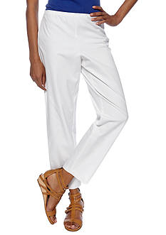 Eileen Fisher Slim Ankle Side Zip Pant