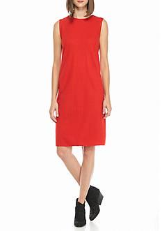 Eileen Fisher Round Neck Dress