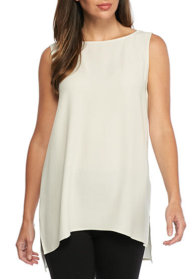 Eileen Fisher Long Woven Tank