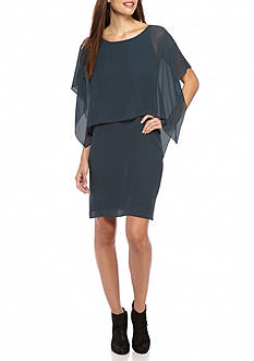 Eileen Fisher Solid Knee Length Dress