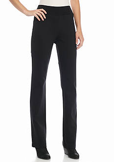 Eileen Fisher Slim Knit Ponte Pants