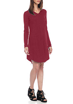 Eileen Fisher V Neck Short Dress