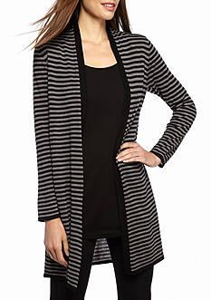 Eileen Fisher Stripe Knit Cardigan