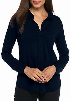 Eileen Fisher Classic Collar Shirt