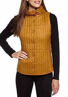 Eileen Fisher Stand Collar Sleeveless Vest