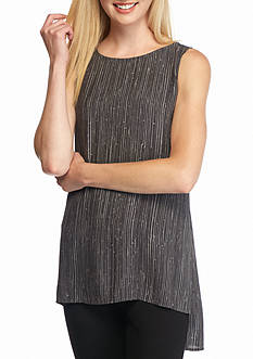 Eileen Fisher Print Longer Length Shell Top