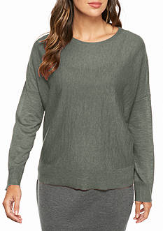 Eileen Fisher Ballet Neck Boxy Fit Top