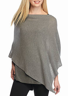 Eileen Fisher Solid Knit Poncho