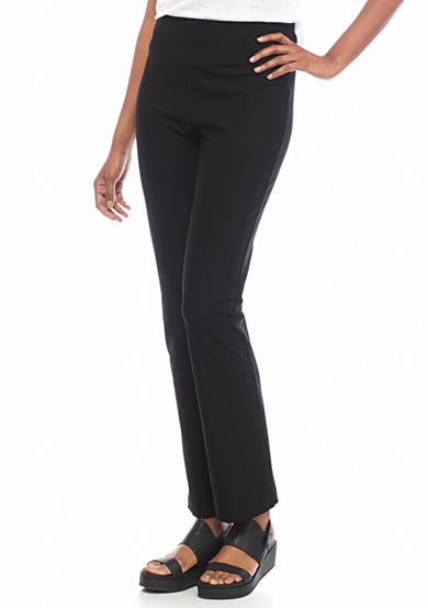 Eileen Fisher Solid Boot Cut Pant