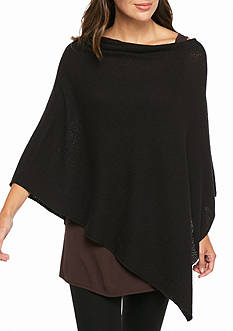 Eileen Fisher Solid Poncho