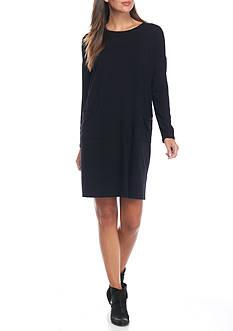 Eileen Fisher Boat Neck Dress