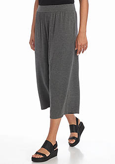 Eileen Fisher Stretch Wide Crop Pant