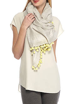 Eileen Fisher Tassled Scarf