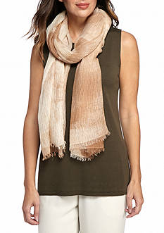 Eileen Fisher Frayed Scarf