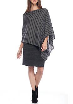 Eileen Fisher Stripe Poncho