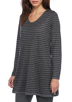 Eileen Fisher Stripe Long Tunic