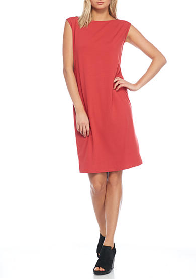 Eileen Fisher Solid Knit Dress