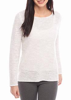 Eileen Fisher Open Stitch Sweater