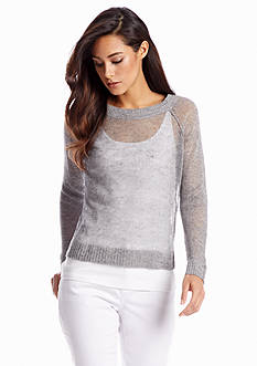 Eileen Fisher Ballet Neck Boxy Top