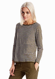 Eileen Fisher Bateau Neck A-Line Top