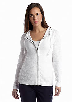 Eileen Fisher Hooded Cardigan Sweater