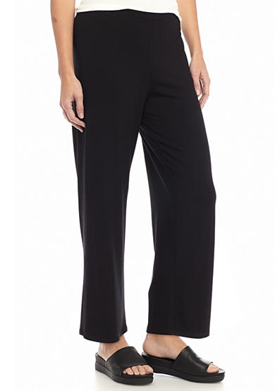 Eileen Fisher Solid Cropped Pants