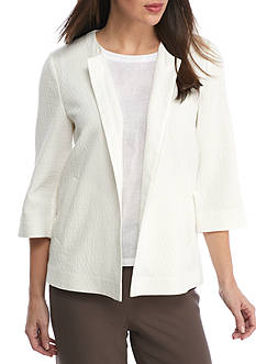 Eileen Fisher Round Neck Jacket