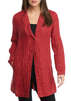 Eileen Fisher Notch Collar Jacket