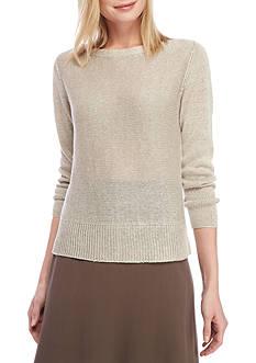 Eileen Fisher Knit Long Sleeve Sweater