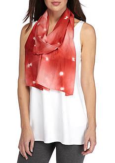 Eileen Fisher Silk Tie Dye Scarf