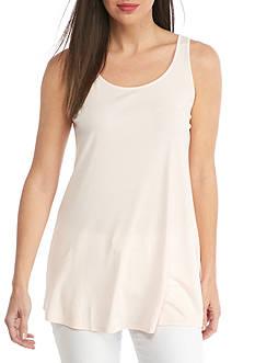 Eileen Fisher Stretch Silk Jersey Scoop Neck Tunic