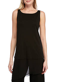 Eileen Fisher Transparent Bottom Tank