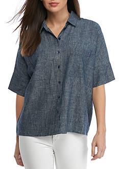Eileen Fisher Camp Shirt