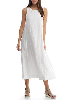 Eileen Fisher Scoop Neck Full Length Dress