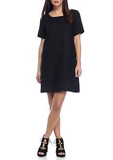Eileen Fisher Ballet Neck Dress