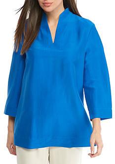 Eileen Fisher High Collar Top