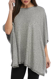 Eileen Fisher Boat Neck Poncho