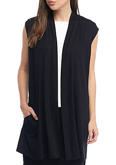 Eileen Fisher Simple Long Vest