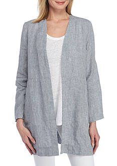 Eileen Fisher Long Open Front Jacket