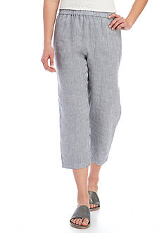 Eileen Fisher Straight Leg Cropped Pants