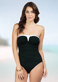 Lauren Ralph Lauren Cocktail Bandeau One Piece