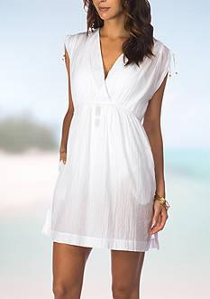 Lauren Ralph Lauren Crushed Farrah Dress Swimsuit Cover Up