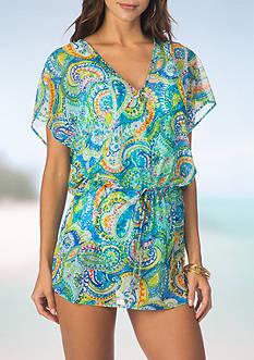 Lauren Ralph Lauren Carnivale Poolside Tunic Swim Cover Up