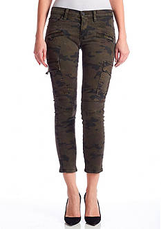Hudson Jeans Colby Crop Camo Cargo Pants