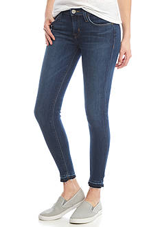 Hudson Jeans Krista Crop Released Hem Super Skinny Jean