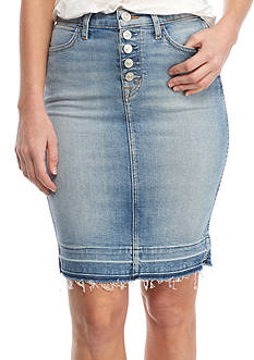 Hudson Jeans Remi Released Hem Skirt