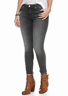 Hudson Jeans Nico Ankle Raw Hem Super Skinny Jean