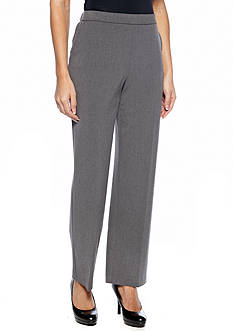 Kim Rogers Petite Pull On Menswear-Inspired Pants