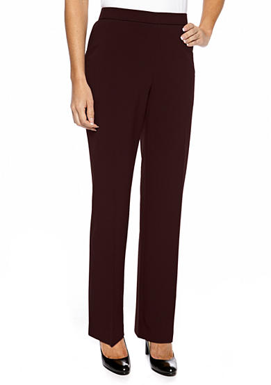 Kim Rogers® Petite Pull On Menswear-Inspired Pants